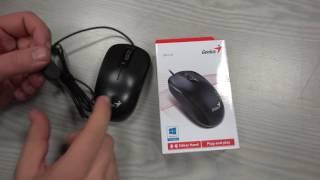 Genius DX-110 Black USB Mouse