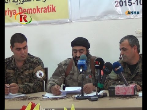 """""""The Syrian Democratic Forces"""" Formed By Various Factions"""