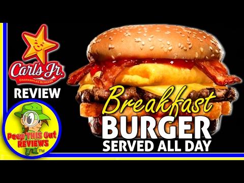 Carl's Jr.® | The Breakfast Burger™ 2017 Review! 🍳🍔