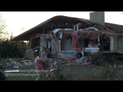 Adel, GA - Tornado Damage Aftermath - 1/23/2017