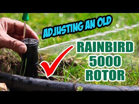 Rainbird 5000 Sprinkler Adjustment