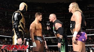 Cody Rhodes & Goldust vs. The New Age Outlaws - WWE Tag Team Championship Match: Raw, Jan. 27, 2014