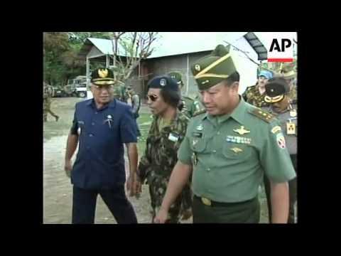 WEST TIMOR: HOLBROOKE - MILITIA INTIMIDATION