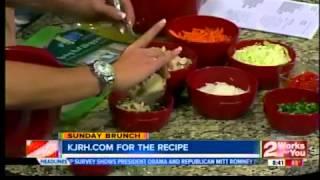 Sunday Brunch:  Vietnamese Chicken Salad Rolls Part I