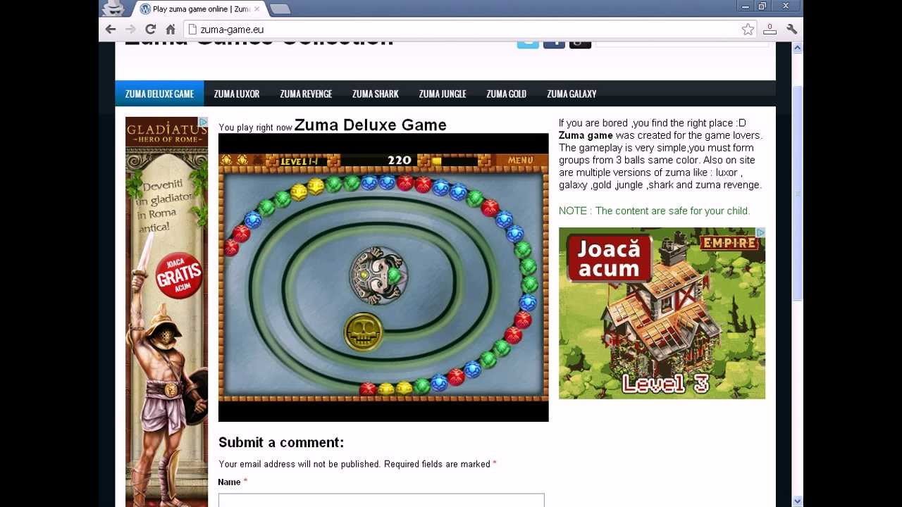 Color zuma game - Where To Play Zuma Game Online