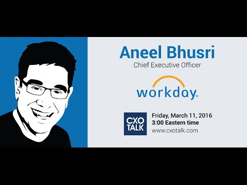 #160: Enterprise SaaS at Scale, with Aneel Bhusri, CEO, Workday