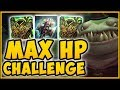 ACHIEVING HIGHEST HYDRA PROC POSSIBLE? MAX HP TAHM KENCH IS 100% DUMB! - League of Legends Gameplay
