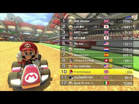 Mario Kart 8 (MK8) Online - THE BEST PLAYERS IN THE WORLD