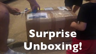 Surprise Unboxing From My BF