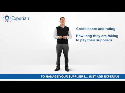 Manage Your Suppliers