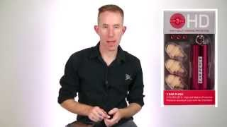 Ear Peace HD ear plugs review - pro hearing loss protection high fidelity earbud review