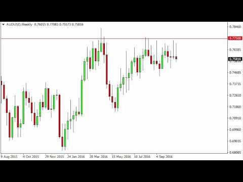 AUD/USD Forecast for the week of October 31 2016, Technical Analysis