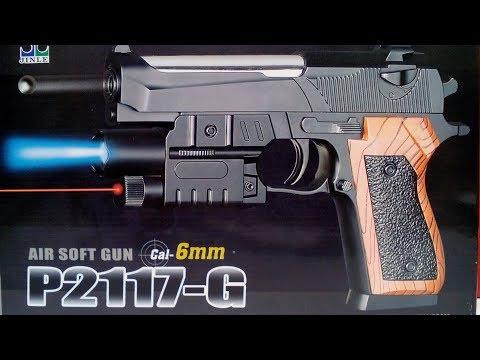 P2117 G Пистолет пневматический.Игрушка.Пластик.