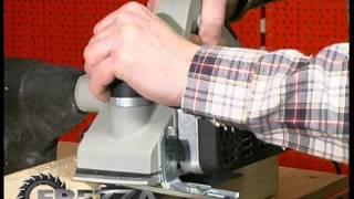 Електричний рубанок Интерскол Р-82ТС-01 (Відео огляд)