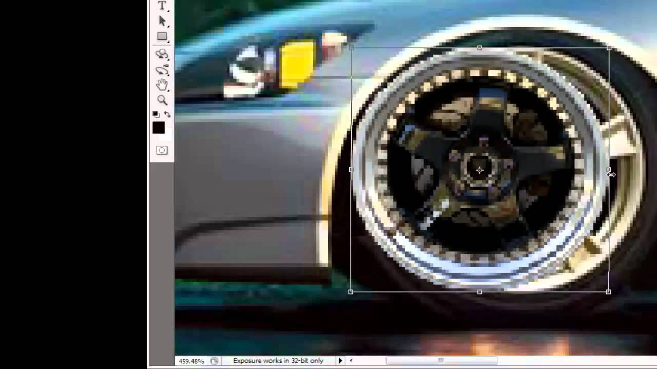 How To Edit Rims On To Your Car In Photoshop Cs5