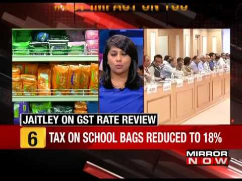 MRN Impact: GST rate on school bags, colouring books lowered - The News