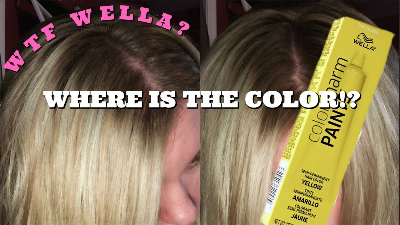 WELLA COLOR CHARM PAINTS | WORST HAIR COLOR EVER!?
