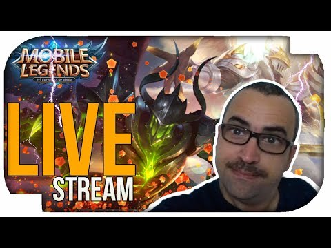 Mobile Legends LIVE FULL TILTADO! ML ( PORTUGUÊS BRASIL - PTBR )