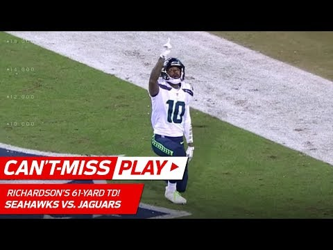 Russell Wilson Avoids Sack & Bombs it to Paul Richardson for 61-Yd TD | Can't-Miss Play | NFL Wk 14