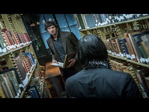 John Wick 3 Movie Clips : Full Library Fight Scene Vs. Ernest (Boban Marjanovic)