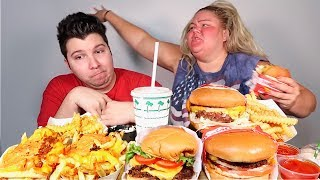 In-N-Out VS Shake Shack • MUKBANG