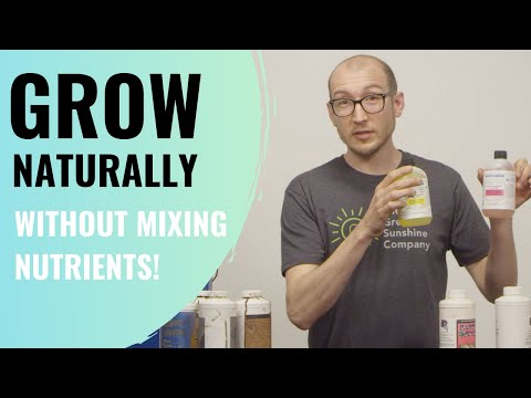 How To Grow Naturally The Easy Way [Without Mixing Nutrients]