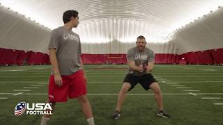 Tip of the spear contact system | usa football