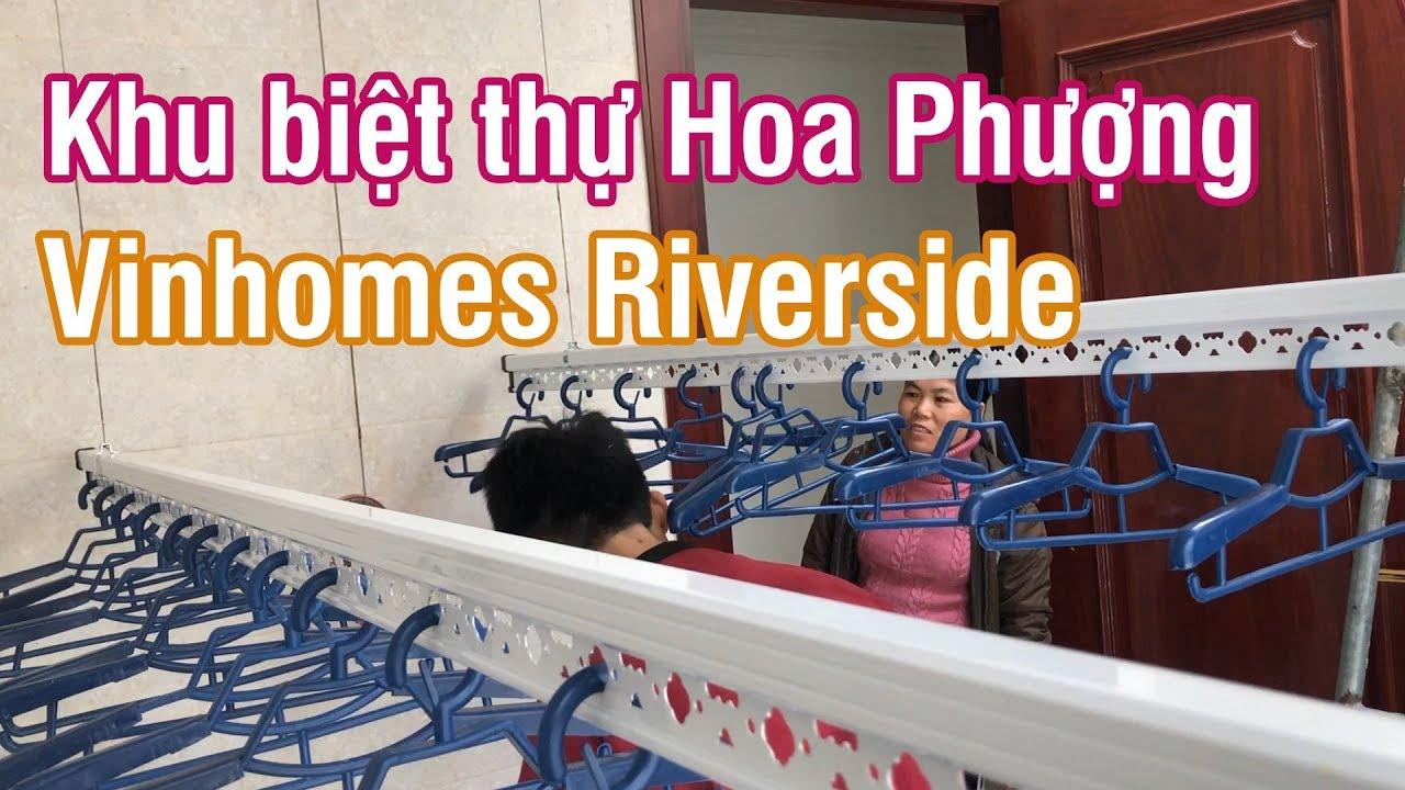 Lắp giàn phơi tại khu biệt thự Hoa Phượng – Vinhomes Riverside | Lắp giàn phơi Long Biên