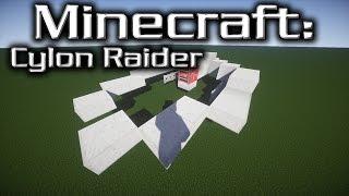 Minecraft: Battlestar Galactica: Cylon Raider