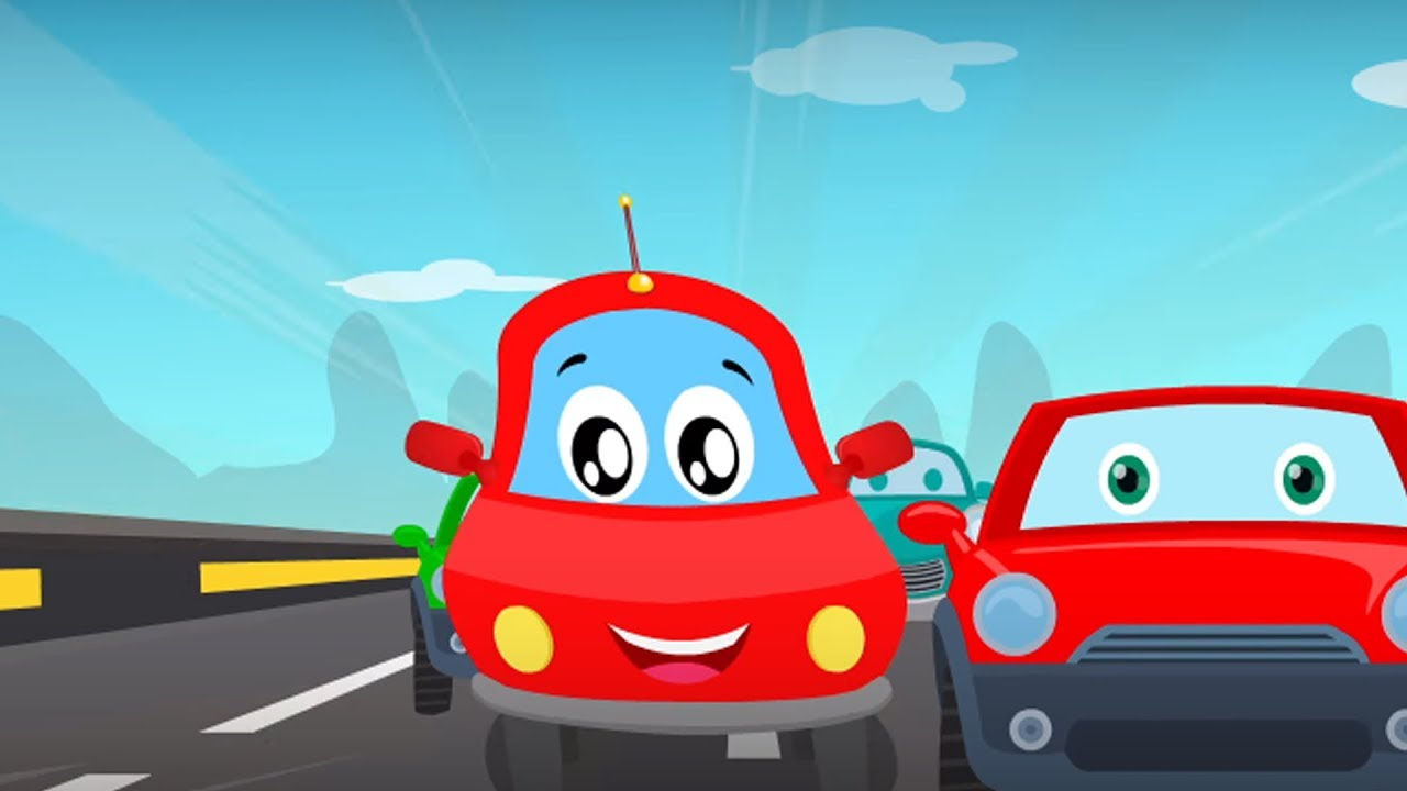 Little Red Car | Iu0027m A Little Sports Car | Car Song For Kids
