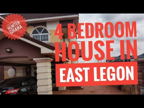 4 Bedroom House With Pool In East Legon, Accra For Sale