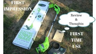 PRODUCT REVIEW: Greenworks 13