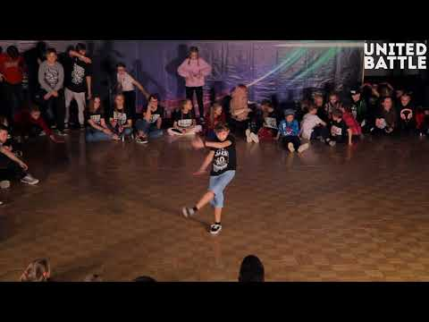 United Battle April 2018 - Hip-Hop Solo, Beginners