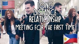 Long Distance Relationship LDR Meeting for the first time 2016 (USA to PHILIPPINES) 9,379 miles away