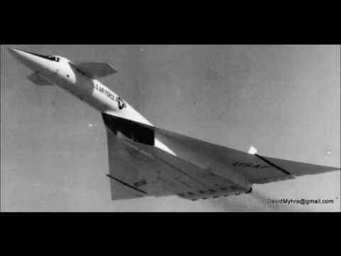 """XB-70 Bomber - Defended By Circular Shaped Mach 7 Anti-Missle Missiles Known As """"Pye Wackets"""""""