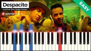 💎 Despacito (Easy) - Luis Fonsi (Feat. Daddy Yankee) | Piano Tutorial 💎