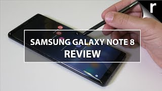 Samsung Galaxy Note 8 Review: No smoke, just fire
