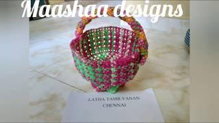 new model biscuit knot  Pooja koodai 1/4by Latha Tamil vaanan Chennai