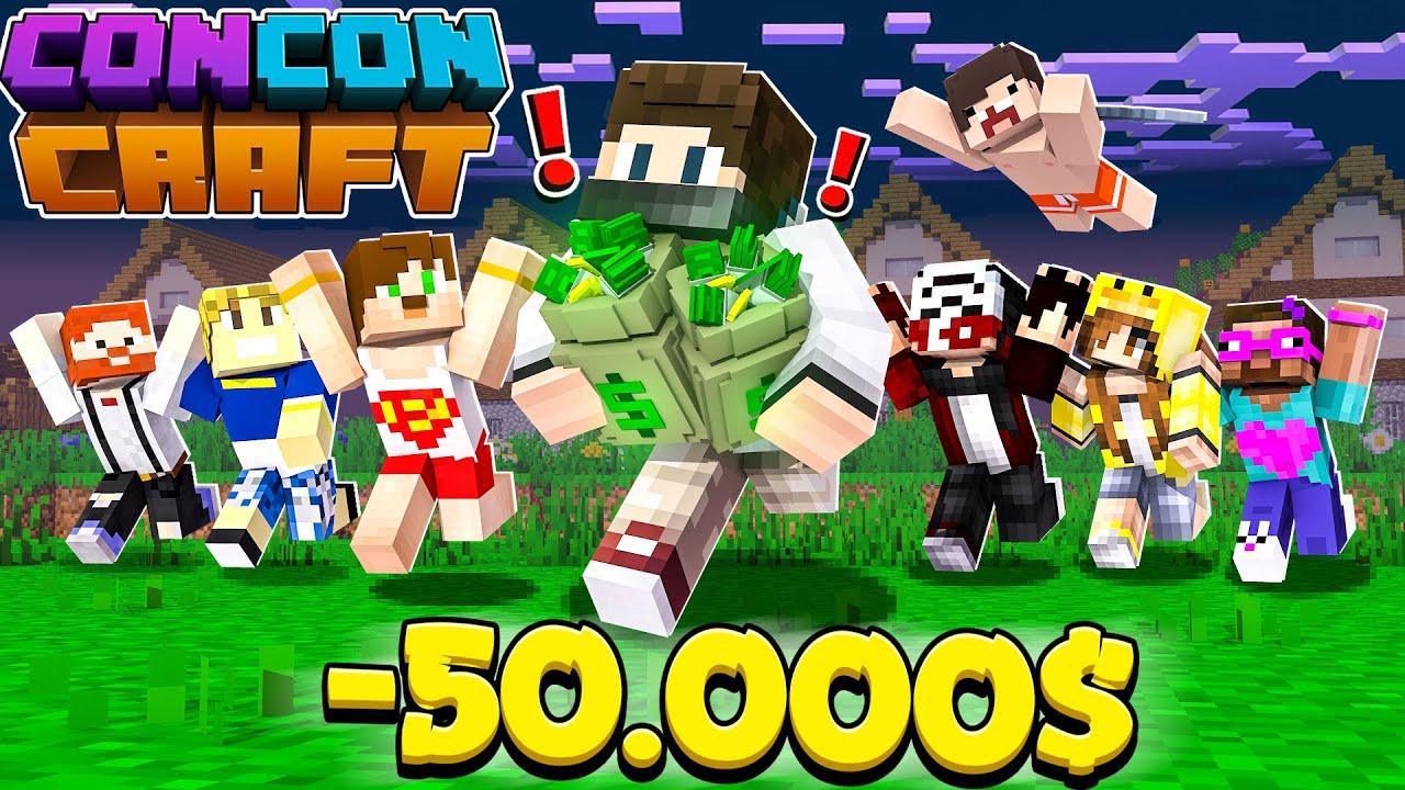 İFLAS ETTİM -50.000$ - Minecraft CONCONCRAFT #3