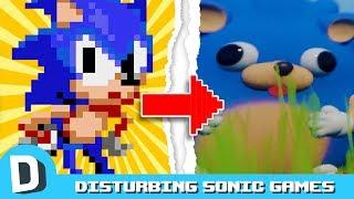 We Play Disturbing Sonic Fan Games (ft. Allegra Frank)