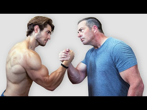 WHO'S THE STRONGER MAN?? (Father vs Son)