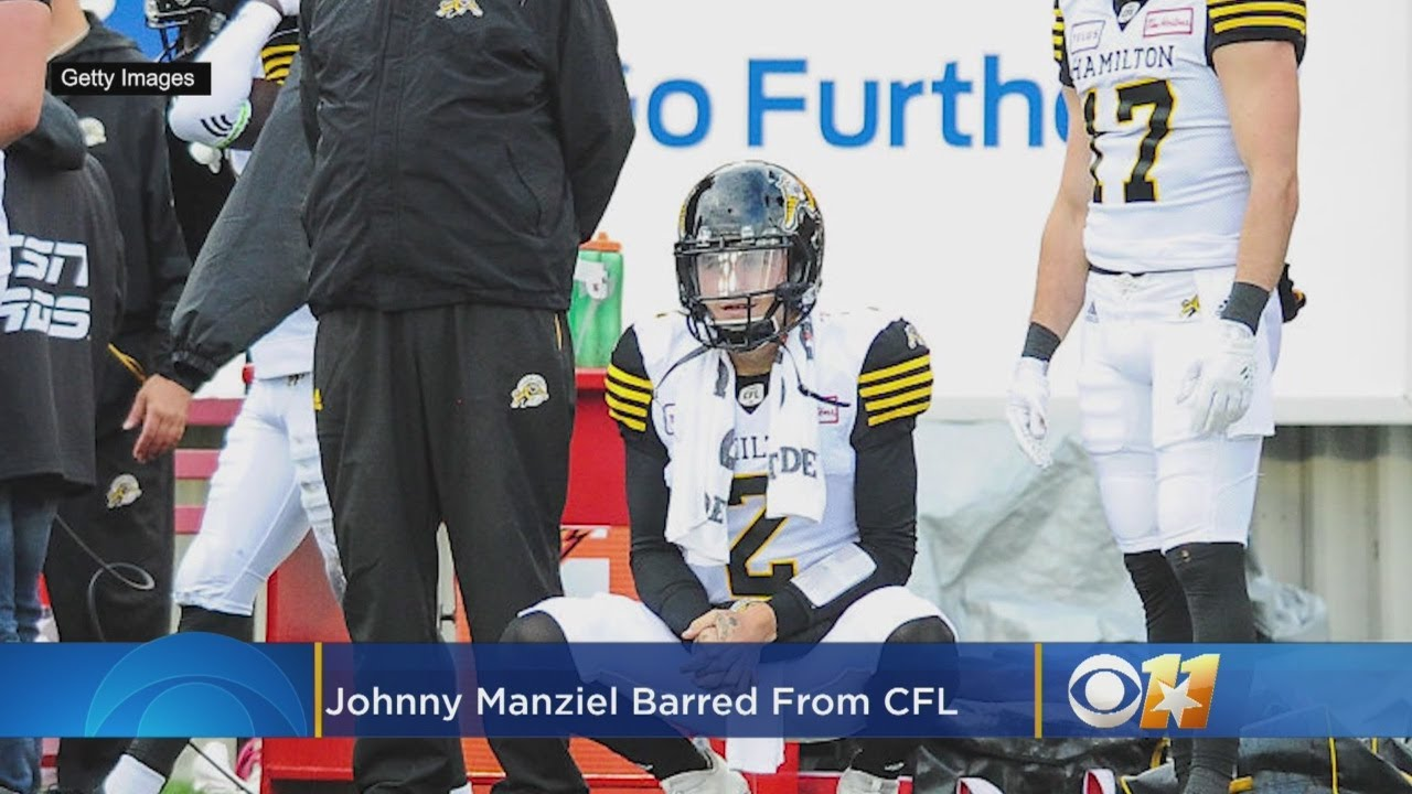 Johnny Manziel released, barred from other CFL teams