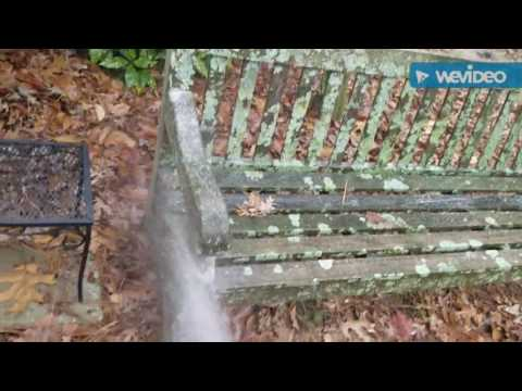 Restoring an old wooden bench!