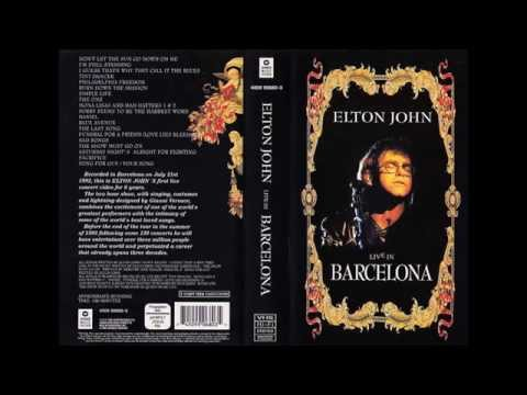 Elton John - Barcelona 92 - Sad Songs (Say So Much) (14 - 17)