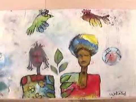 Sudanese artists painting 1
