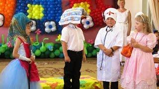 "Сценка ""Про Лентяйкина"" (2012) Видео Валерии Вержаковой"