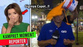 Giginya Copot Saat LIVE..!! Deretan Momen K4MPRET Reporter\/Pembawa Acara #05
