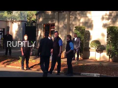 South Africa: Elite Police Raid Home Of Gupta Family In Zuma Probe