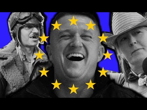 "Tommy Robinson Reacts to Anti-Brexit ""Remoaners"" Marching in London"