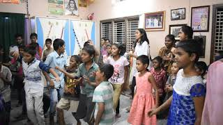 "Seruds Kids' group dance on ""Gunna Gunna Mamidi"" telugu song - 8"